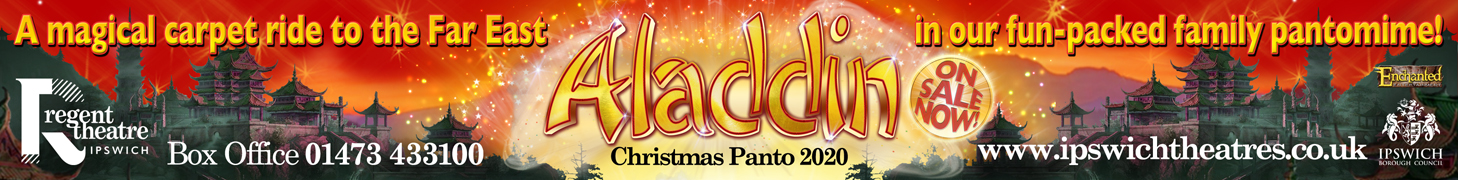 Ipswich Borough Council – Aladdin [Banner Advert]