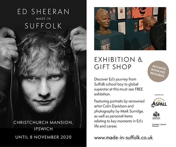 Ed Sheeran Made in Suffolk | Sept 2020 | MPU – all pages