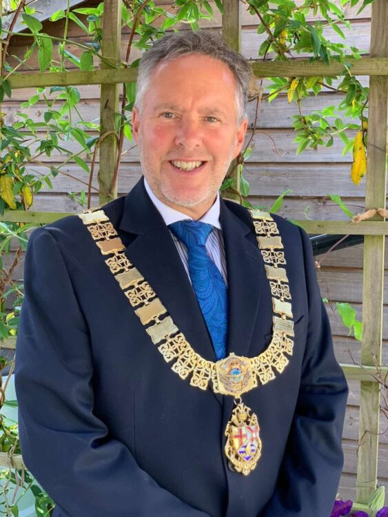 This image has an empty alt attribute; its file name is Mayor-of-Felixstowe-Mark-Jepson-CREDIT-Felixstowe-Town-Council-563x750.jpg